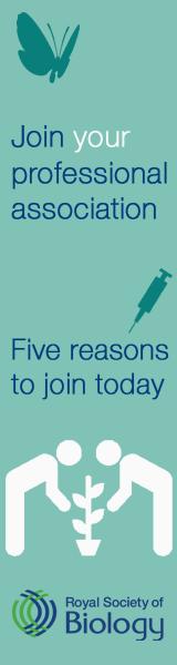 Biologist side banner 1: Join your professional association