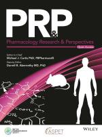 Pharmacology Research and Perspectives Cover