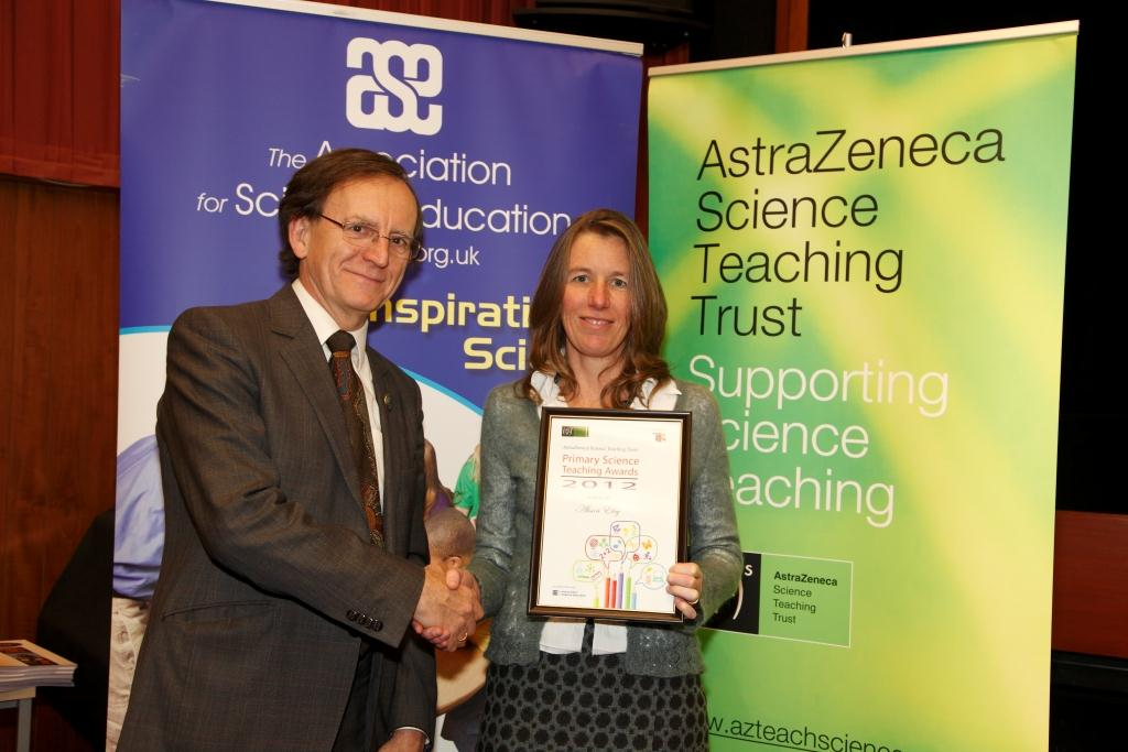 Alison Ely, Primary Science Teacher of the Year