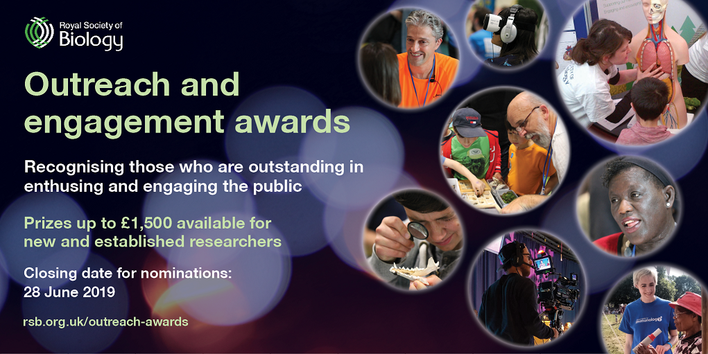 RSB Outreach and Engagement Awards 2019 social media card