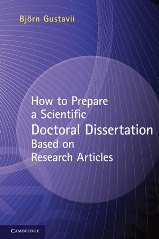How to prepare doctoral thesis